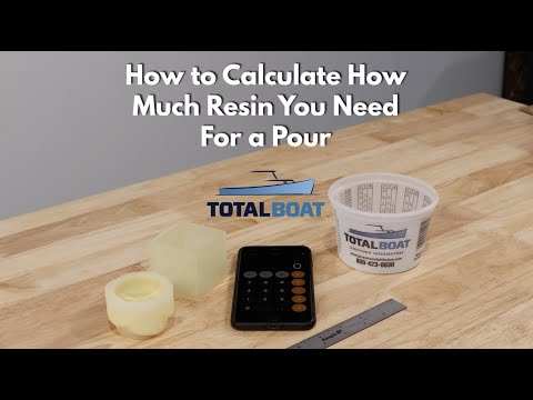 How to Calculate How Much Resin You Need For a Pour