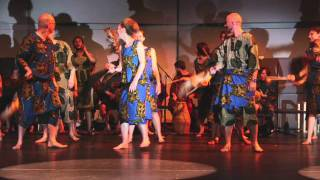 Alfred Ladzekpo Farewell Concert 2011 Agbekor Part3