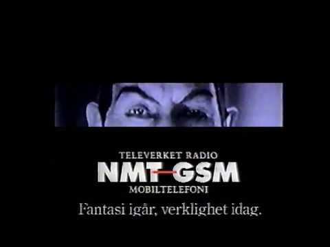 NMT-GSM-telefon Televerket Radio  TV3 reklam   20 Nov 1991