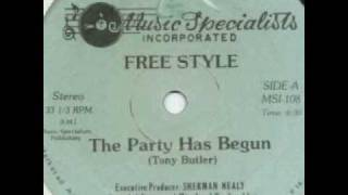 Old School Beats - Free Style - The Party Has Begun Thumbnail
