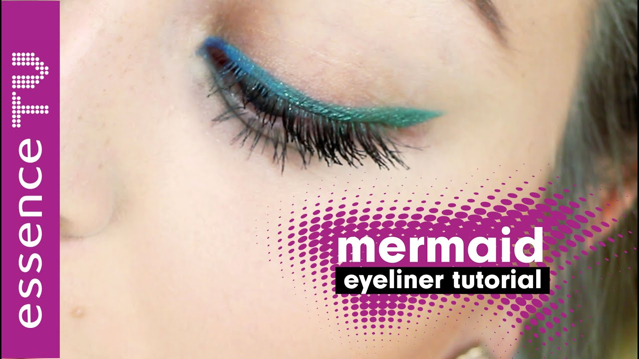 mermaid eyeliner make up tutorial auftragen auch f r anf nger l essencetv youtube. Black Bedroom Furniture Sets. Home Design Ideas