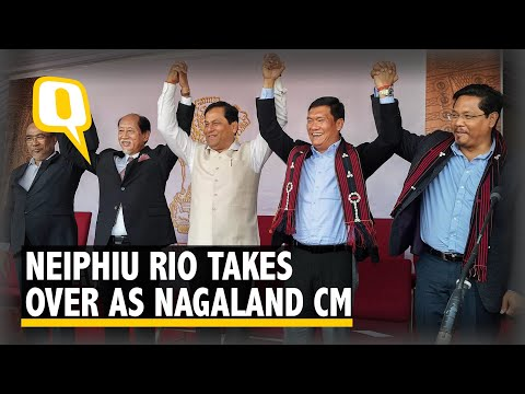 Neiphiu Rio Sworn in a Chief Minister of Nagaland