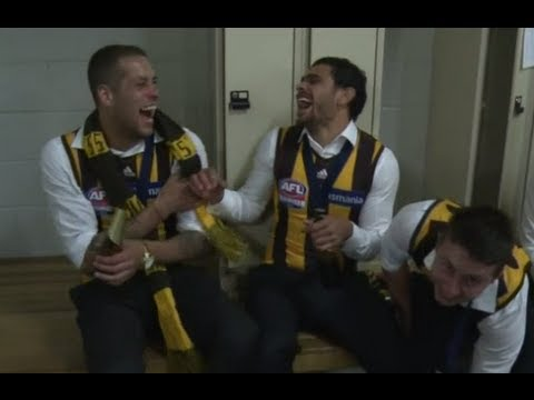 Exclusive - Hawthorn's 2013 premiership after-party