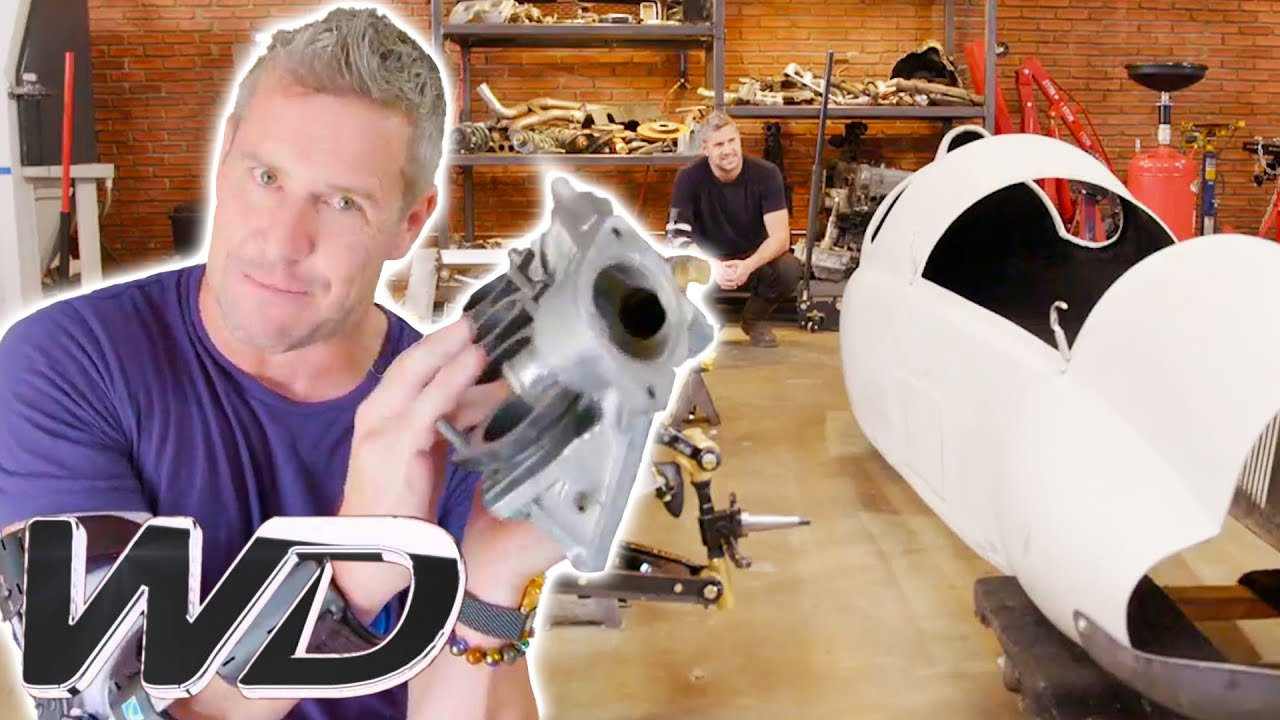 Ant Gets His Motor Ready While Fitting The Chassis Into The Car's Body | Ant Anstead Master Mechanic