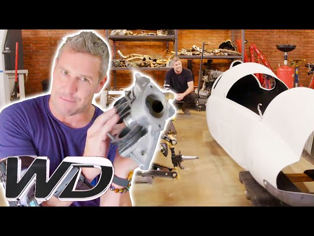 Ant Gets His Motor Ready While Fitting The Chassis Into The Car\'s Body | Ant Anstead Master Mechanic