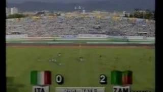 Zambia Vs Italy 1988