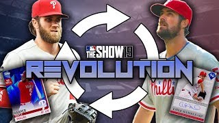 PITCHER HITS A 400 FOOT BOMB Revolution 13 MLB The Show 19 Diamond Dynasty