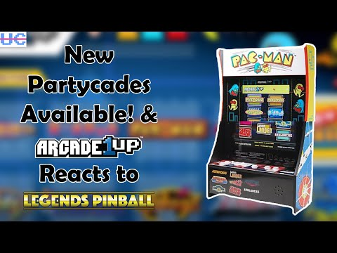 Killer Games List on New Arcade1up Partycades, 299 Ms. Pac-Man and Arcade1up's Pinball Listings Live from Unqualified Critics