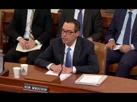 Mnuchin Defends Trump Tax Plan - Full House Hearing