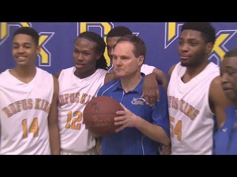 Rufus King HS basketball coach records milestone 500th win