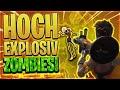 💥💀EXPLOSIONEN vs ZOMBIES!   3 Raketenwerfer vs 80 Zombies(Only Pickaxe)   Fortnite Battle Royale