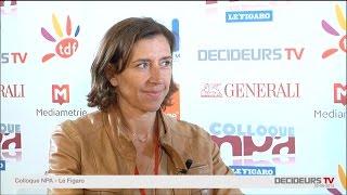 Colloque NPA-Le Figaro 2015 : Valérie Decamp, Média transports