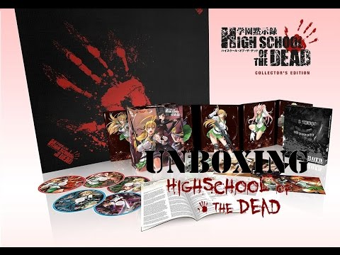 Anime Unboxing: Highschool Of The Dead Collectors Edition