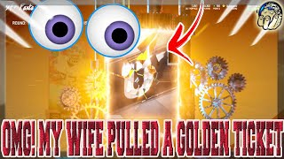 MY WIFE PULLED A GOLDEN TICKET I CANT BELIEVE IT! [MADDEN 20 ULTIMATE TEAM PACK OPENING]
