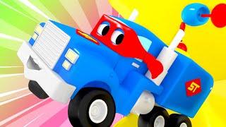 El mini Camión de Super - Carl el Camión de Super - Coche de la Ciudad ! Los coches y Camiones de dibujos animados para los niños