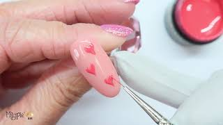 Cute and EASY Candy Button Hearts for Valentines Day using Magpie Beauty Products