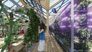 El arquitecto Vicente Guallart construirá las primeras viviendas post-covid. Desarrollo 3D