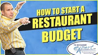 Restaurant Management Tip - How to Start a Restaurant Budget #restaurantsystems