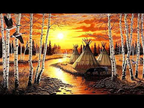 Native American Flute Music | Ojibwe Tribe | Relaxing, Instrumental, Peaceful