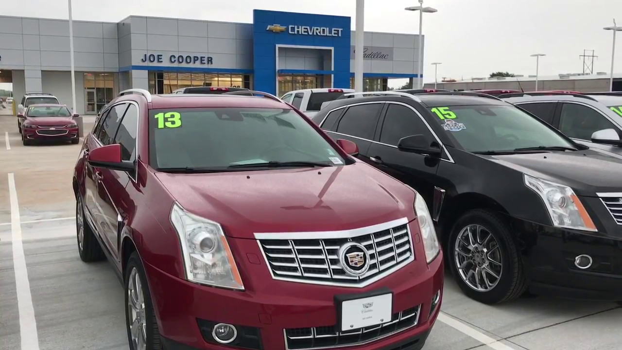 Sandra S Srx From Chad At Joe Cooper Chevy Cadillac In Shawnee Ok
