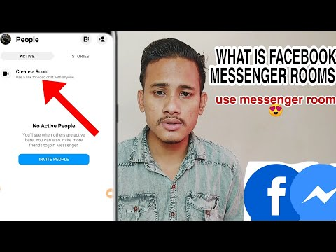 What Is Facebook Messenger Rooms & How To Use It   Latest Update Of Messenger 2020 Create Rooms 😍
