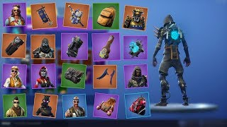 Fortnite - All v5.3 Skins + Back Blings! (Road Trip, Ghost Portal...)