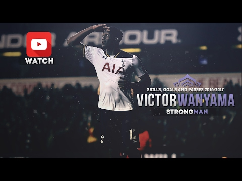 Victor Wanyama - Strong Man (2016-2017) - Skills, Goals and