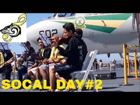 [DAY 2] ACHS MUSIC BOARDS USS MIDWAY