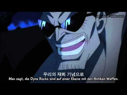 One Piece Film Z - Z VS Admiral Kizaru HD Ger Sub