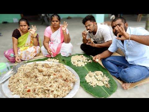 White CHICKEN GHEE BIRYANI Recipe | Prepared By Grandpa | VILLAGE FOOD
