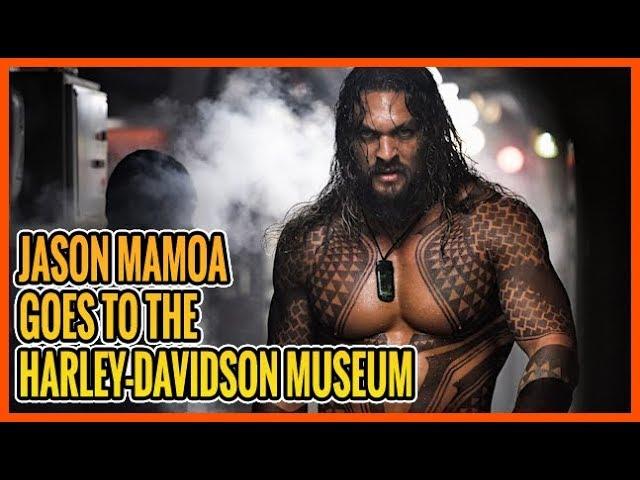 Born To Ride Episode 1198 - Jason Mamoa Visits H-D Museum - BTR News Desk Jumping - Swaporama