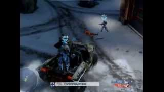 My best driving run ever on Halo 4 - Skillful driving run of 11 kills with teammate