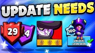 BEST UPDATE IDEAS! - 3rd Star Powers! New Rank 30! Experience Road! Leagues u0026 Challenges!