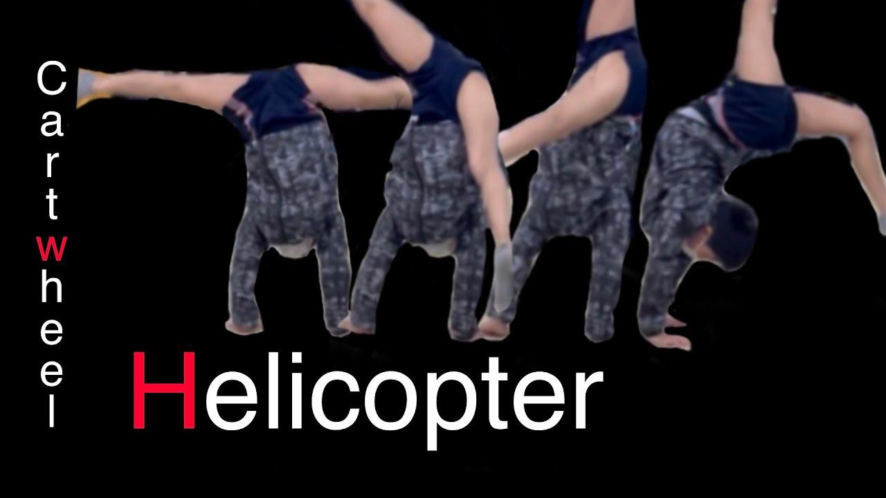 "the best ""Helicopter"" cartwheel tutrial.""Rick method"",Yokohama,JAPAN"
