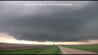May 22 2010 South Dakota Dramatic Supercell Maturation and Tornadogenesis