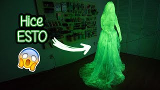 THERE IS A GHOST IN THE STUDIO  *Spooky Tutorial* ✎ Craftingeek