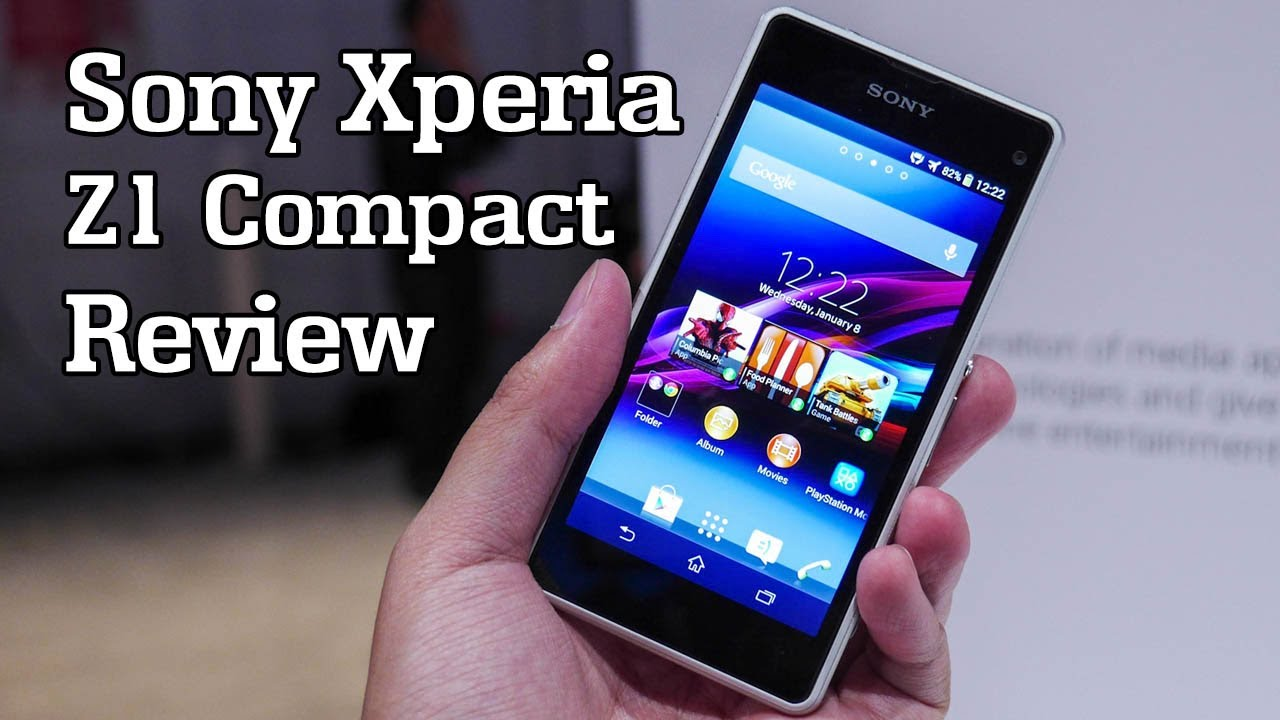 Sony Xperia Z1 Compact Review! - YouTube
