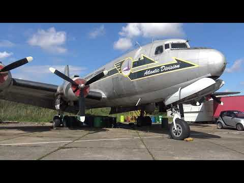 {4K / UHD} North Weald Douglas C54 Skytrain