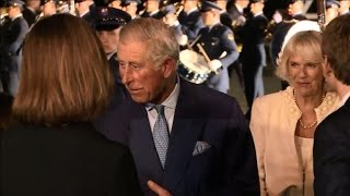 Charles and Camilla arrive in Colombia for five-day visit