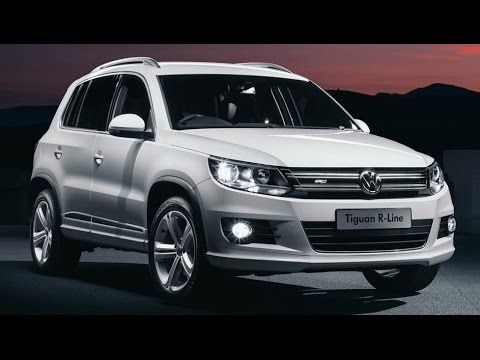 2015 Volkswagen Tiguan R-Line- Test Drive, Review - YouTube
