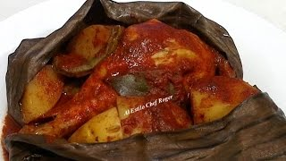 como hacer MIXIOTE DE POLLO, Receta de pollo pibil,  #397,