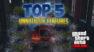 GTA 5 Online: TOP 5 UNNÜTZE EXTRA FEATURES IM SPIEL | Deutsch