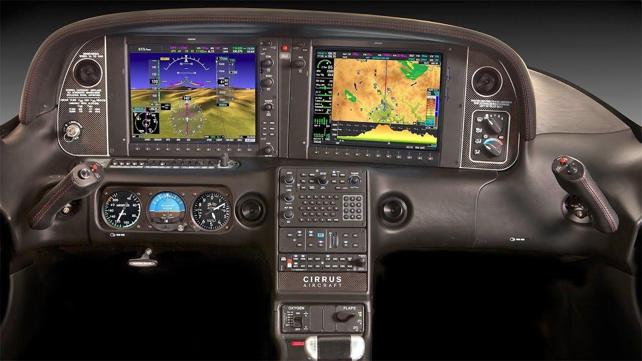 Cirrus Sr22t Perspective Avionics Demo Youtube