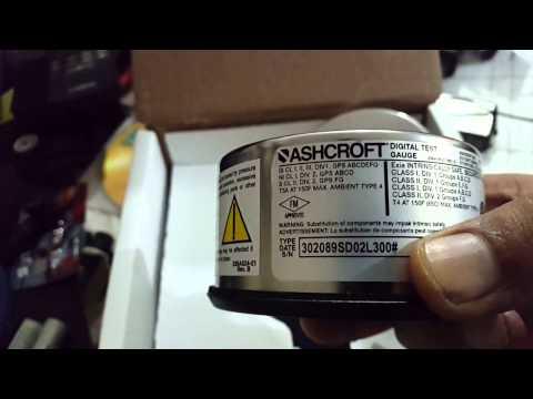Digital Test Gauge Ashcroft 2089