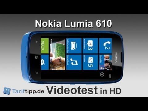 Nokia Lumia 610 | Handytest in HD (deutsch)