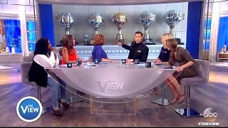 Maks Chats Fatherhood & 6 Mirror Balls In The Family - The View