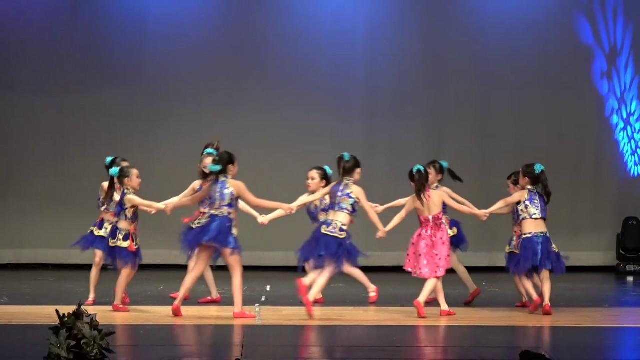 2017梁红民族舞蹈学校年度汇报演出-舞蹈:我有一双小小手