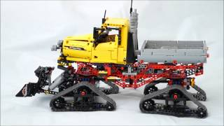 LEGO TECHNIC GROOMER TUCKER SNO CAT