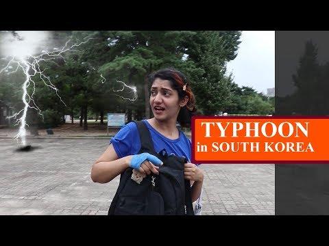 Typhoon Lingling South Korea|태풍 링링 | Pakistani youtuber