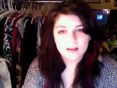 """Video Chat Karaoke- Eisley's """"The Valley"""""""